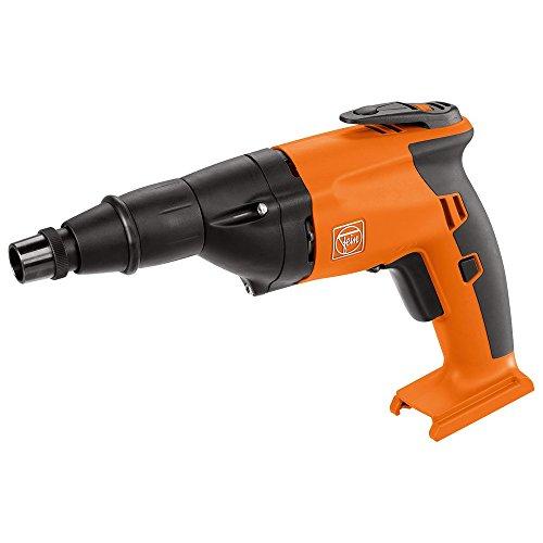 FEIN 71131163000 ASCS6.3 Select Cordless Screw Driver, 18 V, Orange