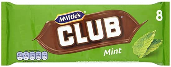 Jacobs Club Biscuits Mint 8 Pack 195g