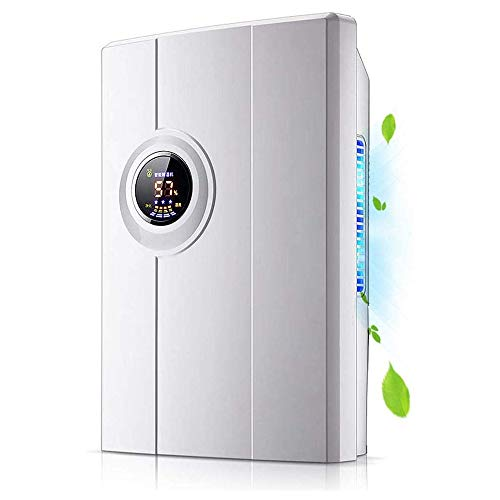 Review KJRJXX Tank Smart Control Quiet Compact Home Electric Dehumidifier with Liquid Crystal Displa...
