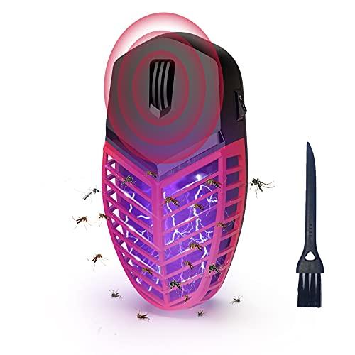 ALIFOR Lámpara Antimosquitos,Repelente Ultrasónico 2 en 1 de Control de Plagas,Anti Cucarachas, Moscas, Mosquitos, Ratones, Arañas,100% Inofensivo para Mascotas y Humanos (1paquete)