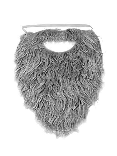 Faux Barbe et moustache – Gris