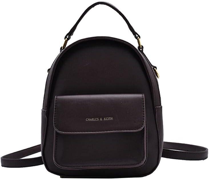 ZYSAJK Women Backpack Pu Leather Women's Bag Teen Girls Backpacks Cute Animals School Female Small Bag Fashion Women Backpack