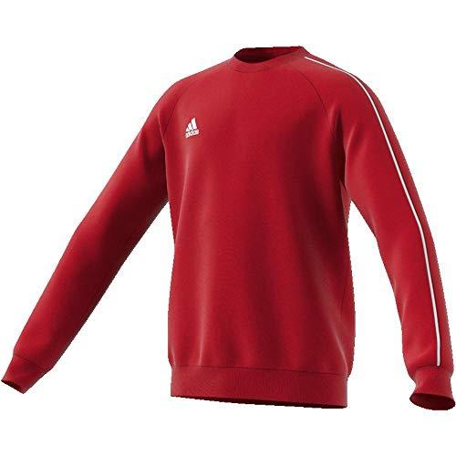 adidas Core 18 SS, Felpa Unisex Bambini, Rosso (Power Red/White), 152 (11-12 Anni)