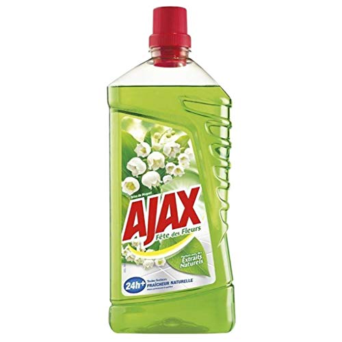 Ajax - Limpiador multisuperficies para Fiestas de Flores (1,25 L, 6 Unidades)