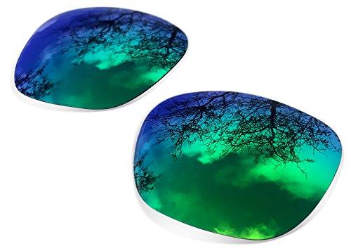 sunglasses restorer Lentes de Recambio para Oakley Holbrook | Sapphire Green Polarizado