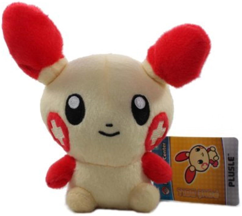 Pokemon Center Pokedoll Plush Doll USA  6 Plusle by Pokemon Center