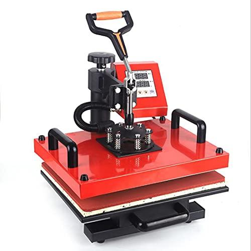 GAO-bo Máquina de Prensa de Calor Digital de Doble Pantalla 1300W Transferencia de Calor hidráulica de Alta presión de Alta presión Impresora de Transferencia de Calor