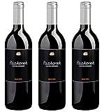 Bio Wein Rotwein Halbtrocken Cuvée Merlot Garnacha Syrah Spanien Katalonien 2016 Barrique Vegan Histaminarm Säurearm (3 x 0.75l)