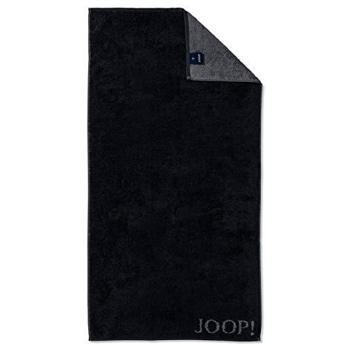 Joop! Duschtuch Classic Doubleface 1600 | 90 schwarz - 80 x 150