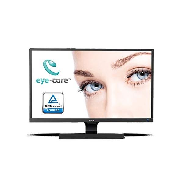 BenQ EW3270ZL 32 Inch QHD Video Enjoyment Monitor, Eye-Care, 100 Percent sRGB, Bezel less, B.I. Sensor - Black 3