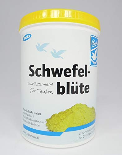 Backs Schwefelblüte 600 g GP: 1kg = 13,32€