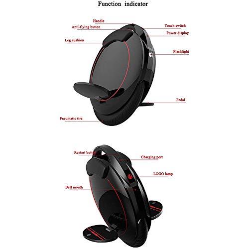 Elektro-Einrad ergonomisch mit Stahlrahmen Bild 3*