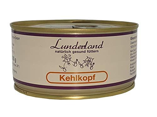 Lunderland-Dosenfleisch-Kehlkopf (Rind) 5 x 300g (insg. 1,5kg) Einzelfuttermittel für Hunde und Katzen