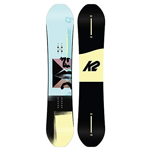K2 Bottle Rocket - Tabla de Snowboard para Hombre, Color Azul, Bottle Rocket, Azul, 160 cm