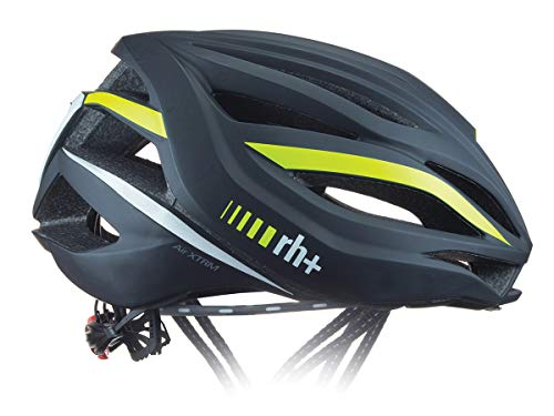 RH+ CASCO BIKE AIR XTRM MATT BLACK - YELLOW FLUO L/XL