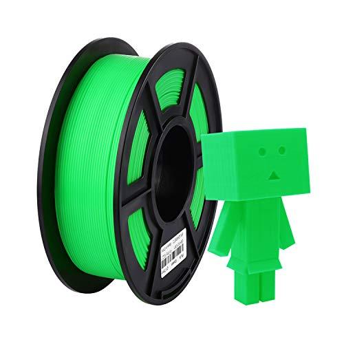 ANYCUBIC Filament 1.75 PLA Grün, 3D Drucker Filament PLA 1kg Spool für 3D Drucker und 3D Stift