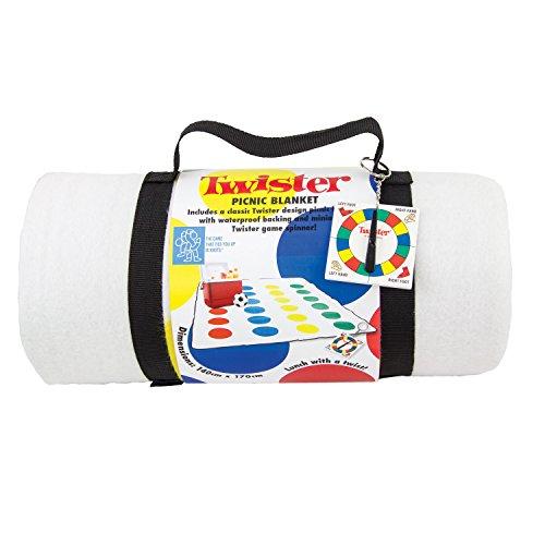 TWISTER - Manta de Picnic, diseño de Juego Twister