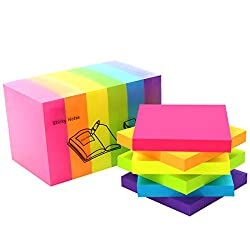colorful post-its