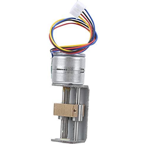 18° Strong NEMA09/20 Stepper Motor, Metal Structure Linear Screw Stepper Motor, for Diy Small Slider