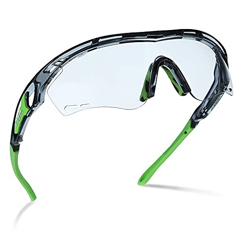 Mifty Gafas De Sol Deportivas para Hombres Y Mujeres, Gafas De Ciclismo, Gafas De Visión Nocturna, Más Protección Ocular, Ciclismo, Carrera, Voleibol De Playa Y Gafas De Sol