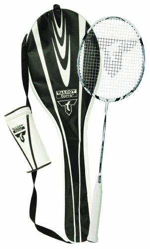 Talbot Torro Badminton-Starterset Isoforce 211, Komplettset bestehend aus 1 Graphitschläger, 3 Bälle, Tasche, alles für den sofortigen Start, 449521