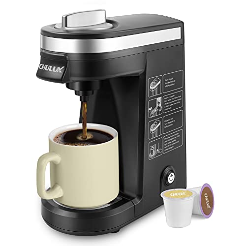 Chulux Single Serve Coffee Maker Brewer for Single Cup Capsule