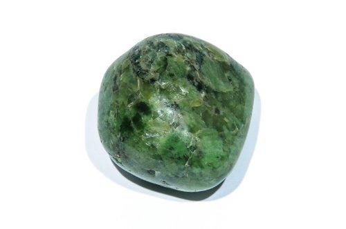 Jade (Nephrit) Trommelstein Handschmeichler Edelstein, Größe ca. 20-30mm