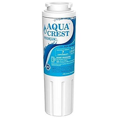 AQUACREST UKF8001 Refrigerator Water Filter, Compatible with Maytag UKF8001, UKF8001AXX, UKF8001P, PUR UKF8001, EDR4RXD1, Whirlpool 4396395, 469006, Filter 4