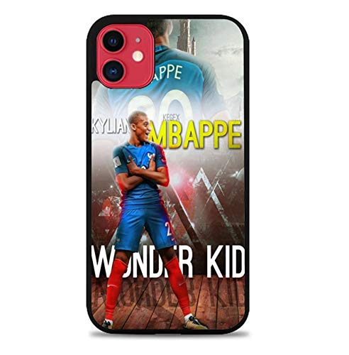 PEWORWEY Case/Handyhülle/Hülle/Coque/Custodia/Carcasa/Cover/Shell,Mbappe DIY Phone Case for Samsung Galaxy S6Edge, Kylian-Mbappé,[M458-5034]