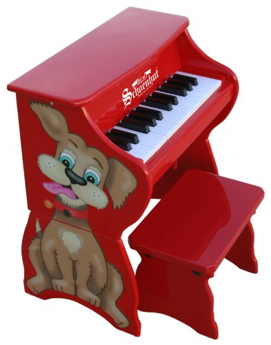 Schoenhut Learn-to-Play Toy Piano