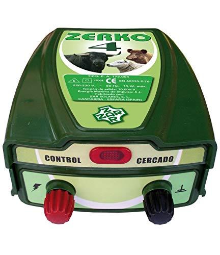 baratos y buenos ZERKO4 Pastor Eléctrico 230v 4 Julios, especial para medio y largo alcance calidad