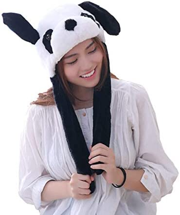 yqtyqs Panda Hat Cap Ears Movable Gift Halloween Party product image