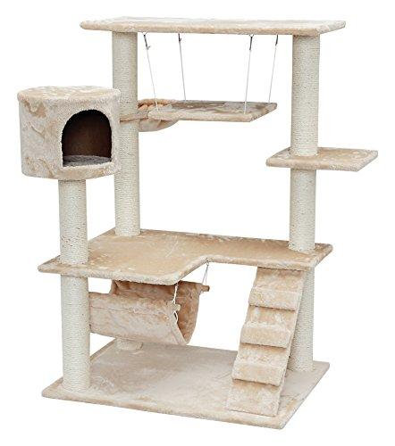 IRIS 4-Tier Cat Tree Condo, Cat Playground