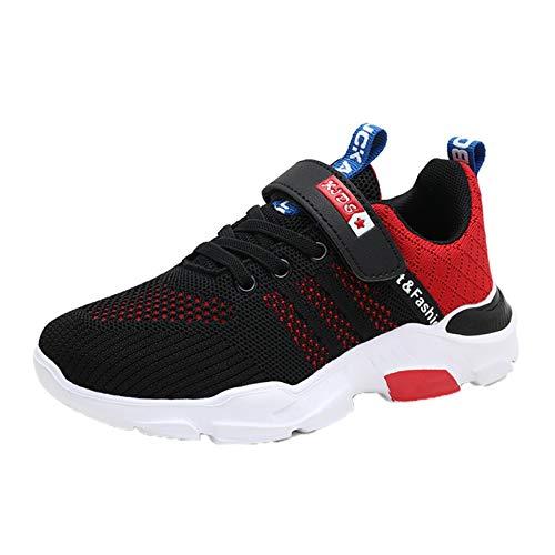 Zapatillas de Deporte para niños Zapatillas de Plataforma Informales Transpirables de Malla para niños Deporte al Aire Libre Zapatillas para Correr Ligeras Antideslizantes para niños