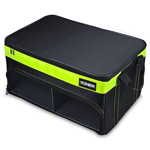 Boîte de Rangement de Coffre de Rangement pour Coffre de Voiture Arrimage et Rangement Brilliant Firm (Color : Black, Size : 55 * 37 * 29cm)