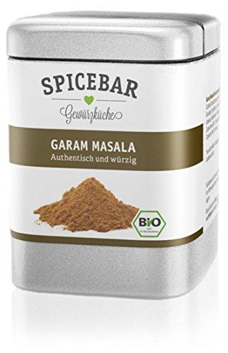 Spicebar Garam Masala, authentische nord-indische Gewürzmischung in Bio Qualität (1 x 70g)