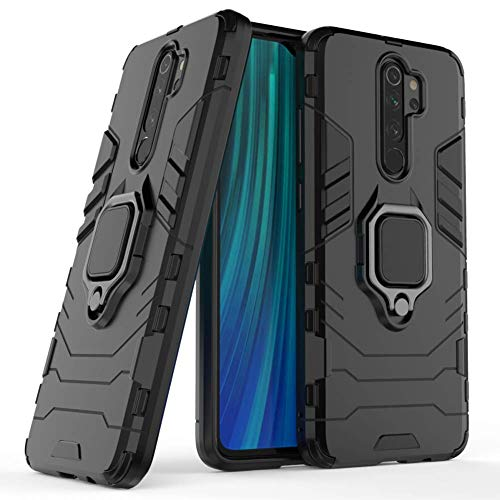 Black Xiaomi Mi A2 Lite Case DWaybox Hybrid Back Case Cover with 360 Degree Rotation Ring Holder for Xiaomi Mi A2 Lite//Redmi 6 Pro 5.84 Inch Compatible with Magnetic Car Mount Holder