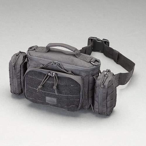 エスコ ウエストポーチ(黒) 394x127x203mm EA927CF-31