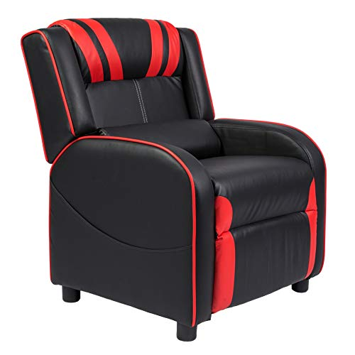 Marabell Home Julius Kids/Youth Faux Leather Gaming Recliner...