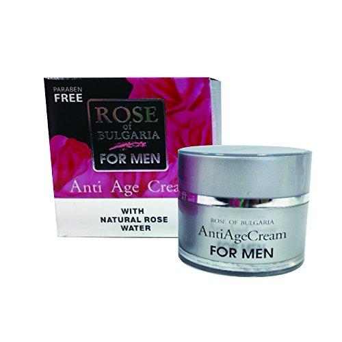 Anti-age Cream for Men Rose of Bulgaria BIOPEPTIDE-CL, Bulgarian Rose Water by Rose of Bulgaria