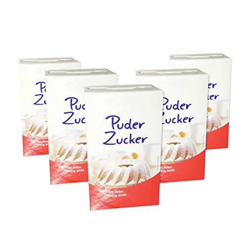 16x Puderzucker á 250g (= 4kg) - zum Süßen, für Glasur, für Zuckerguss & mehr | LEBKUCHEN-WELT