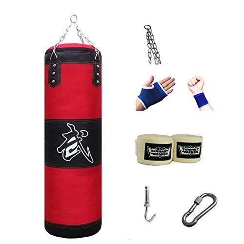 Saco de Boxeo, Bolso de Boxeo Duradero, Sacos de Arena Bolsa de Entrenamiento Vacío de Boxeo Gancho Kick Fight Karate Bolsa de Arena(Sin Relleno), para Entrenar Ejercicio Físico y Deportivo