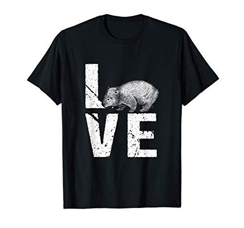 Wombat Besitzer Wombat Liebhaber Ich Liebe Wombat Tier T-Shirt