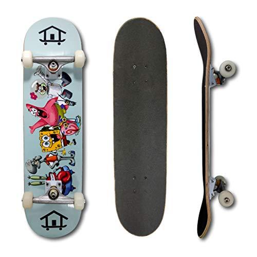 Skate Montado Profissional House Skateboarding Bob Esponja