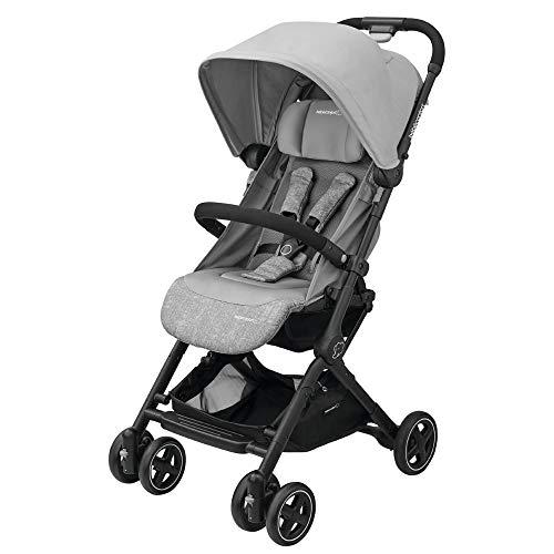 Bébé Confort Lara, Poussette canne Ultra compacte, De la naissance à 3,5ans (0-15kg), Nomad Grey