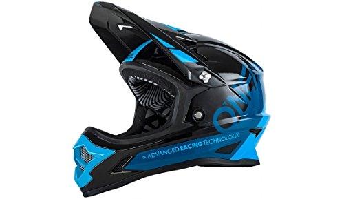 O \'Neal Backflip RL2bungarra Fahrrad Helm, schwarz/blau, L (59–60cm)