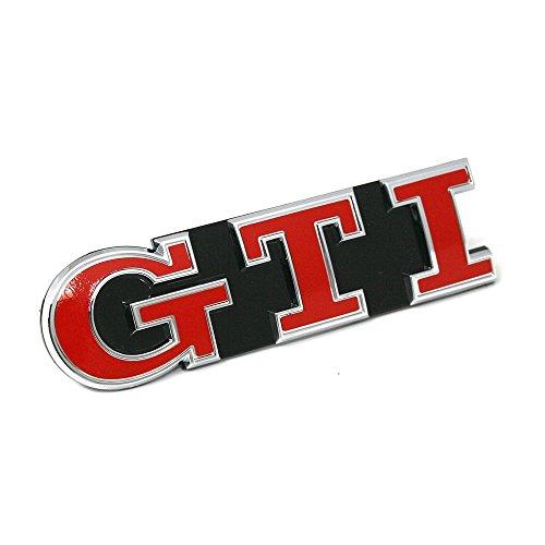 5G0853679AGKRR Schriftzug GTI Performance vorn Kühlergrill Tornadorot