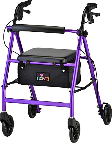 NOVA Vibe 6 Rollator Walker is a very good quality, light weight rollator walker