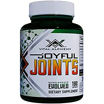 Joyful Joints by Vital Alchemy - Best Joint Supplement - All in One