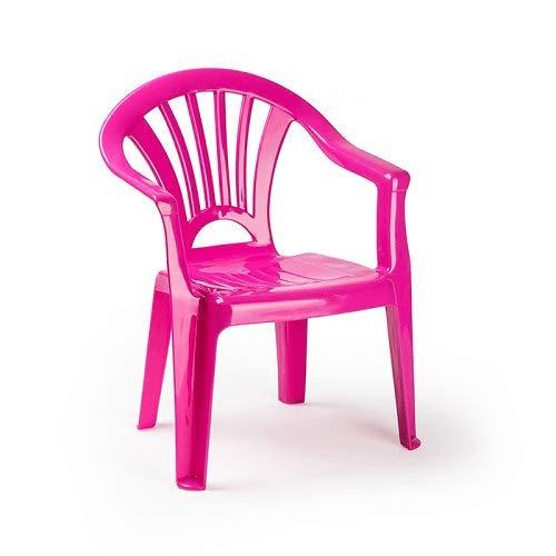 Plastiforte Silla de Plástico Color Rosa para Niños Plasticforte